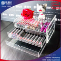 Wholesale Acrylic Makeup Stand Plexiglass Lipstick Display 3 Tiered