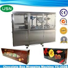 CE SGS GMP Certification Chocolate Box Wrapping Machine Yc-350b