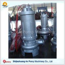 Pompe de cale verticale d'eaux usées submersibles centrifuges