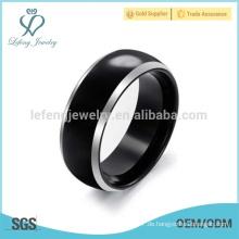 Koreanisch personalisierte Wolfram Stahl Ringe für Männer