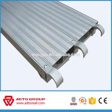Planche complète en aluminium pour construction 7'8'9'10 '