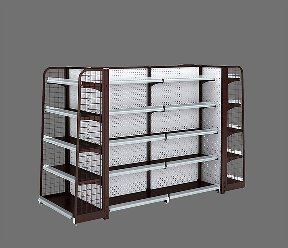 Retail Backplane Display Shelves