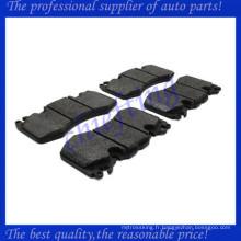 LR016684 LR020362 LR064181 FDB4379 DB2204 usine de plaquettes de frein de voiture pour la découverte de Land Rover