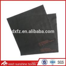 Paño de limpieza de la lente de nylon de la aduana 80% polyester20%, tela de la promoción del paño microfiber de la promoción