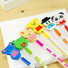 Enfants aime carton créatif nouveau design promotionnel crayon de bois / dessin animé bois crayon shenzhen fabricant / crayon promotionnel