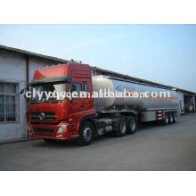 JAW 8x4 camión de remolque de transporte camión de remolque de 4 ejes de transporte auto para la venta