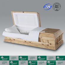 Ataúd por mayor de LUXES Clarion estilo americano cremación ataúdes para la venta