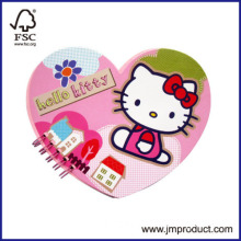 Hello Kitty Spiral Notebook