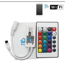 Wifi RGB led tira controlador mágico hogar wifi controlador led