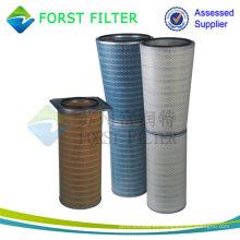 Cartucho de filtro cónico de admisión de gas de Forst