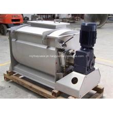 Misturador de fita para plástico em pó