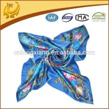 Heißer Verkaufs-Fabrik-Preis Mehrfachgebrauch Silk Schals 90 * 90