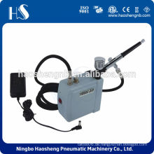 HS08AC-SK Batterie Mini Luftverdichter mit Airbrush