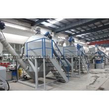 Máquina de Reciclagem de Garrafas de Resíduos 500-6000kg / H