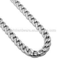 Модная высококачественная металлическая нержавеющая сталь Curb Cuban Chain