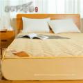 Superbe hôtel utilisé en coton mince dans le moyen matelassé équipé de protège-matelas