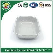 Durable uso de envases de alimentos de papel de aluminio de calidad garantizada