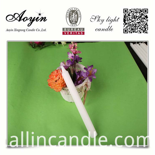 CHEAP WHITE CANDLE045