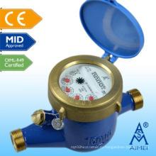Латунный измеритель расхода сухого типа Multi Certified MID