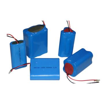 4400mAh 18650 14500 3.7V Li-ion Battery Pack