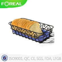Revestimento de pó preto Scroll Bread Basket