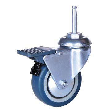 3inch PP / TPE Welle Caster