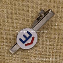 Promoção Esmalte Logo Aço Inoxidável Atacado Tie Bar Fabricante