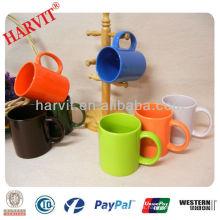 Taza de taza de té esmaltada de color 11 oz