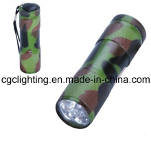 LED Aluminum Dry Battery Torch (CC-015)