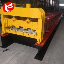 H75 cubierta de piso de acero zinc máquina formadora de rollos