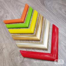 Precio de fábrica colorido molde de marco de foto ps