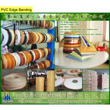 Borda de PVC, fita de borda de PVC