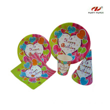 Birthday Party Paper Tableware Sets