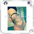Bright Flower Tattoo Hips Don't Lilac body art temporary tattoo sticker Sexy hips tattoos body art temporary tattoo sticker<<< Hips sexy tattoo sticker with beauty design stylish and fashionable<<<