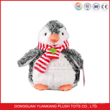 30cm grey penguin soft plush toy