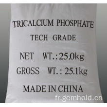 Additif de qualité alimentaire Tricalcium Phosphate TCP