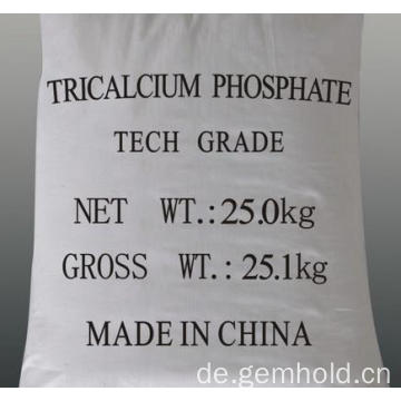 Lebensmittel-Additiv Tricalciumphosphat TCP