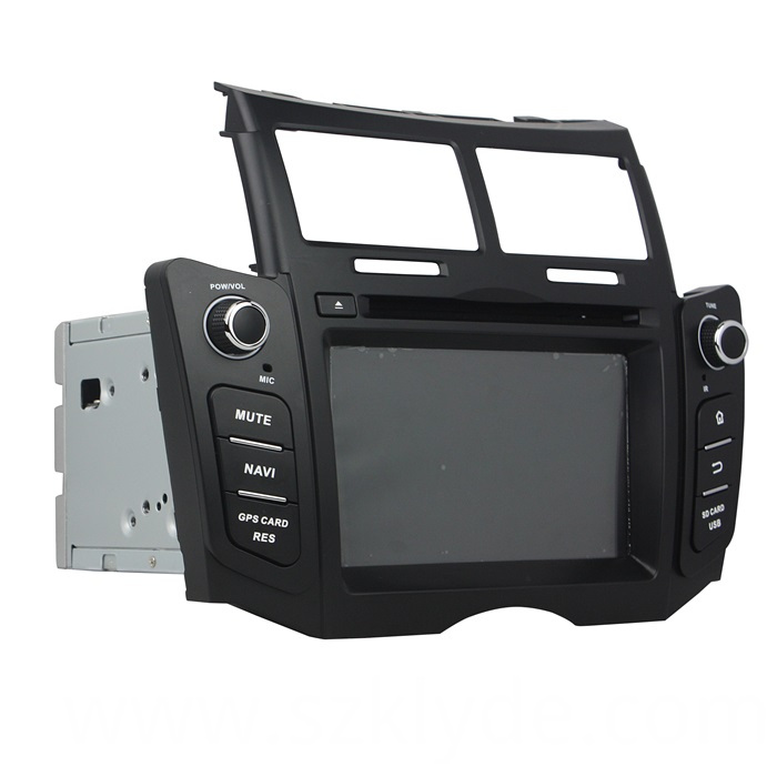 YARIS 2009 Car Navi Support Gps