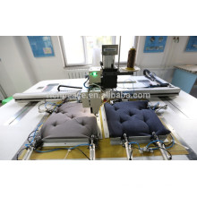 Richpeace Automatic Sewing Machine ----do tacking on cushion (pillow)