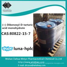 CAS: 80822-15-7 Monohidrato de ácido (+) -Dibenzoil-D-Tartárico químico
