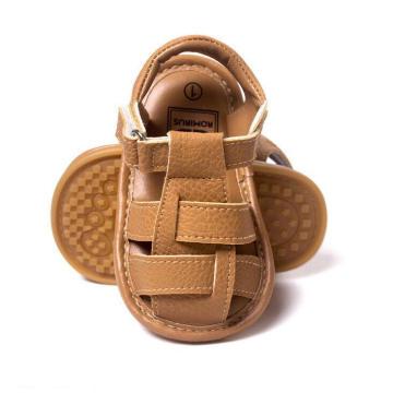 Infant Toddler Moccasins Camel Soft Sole Baby Sandals Shoes