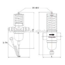 Valve de température de l'eau utilisée dans la réfrigération