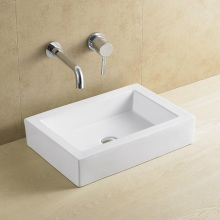 Bacia de banheiro retangular popular 8088