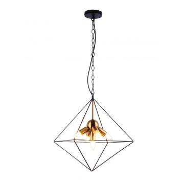 Candelabro simples e moderno com lâmpadas Led