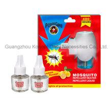 Aceite líquido repelente para mosquitos con cargas eléctricas