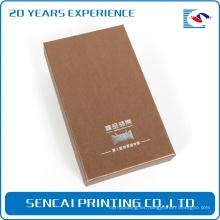 Caja de empaquetado por encargo de la cartulina de destello del USB de la escuela