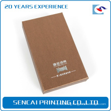 School Popular Custom made USB Flash Cardboard Packaging Box