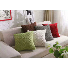 OEM ODM Decorative Knit Sofa Car Seat Cushion Home Pillow