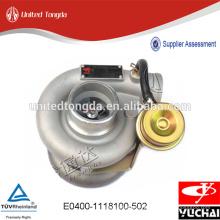Turbocompresseur Geniune Yuchai pour E0400-1118100-502