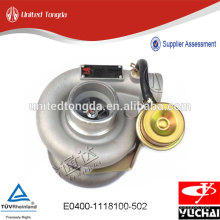 Geniune Yuchai Turbocharger for E0400-1118100-502
